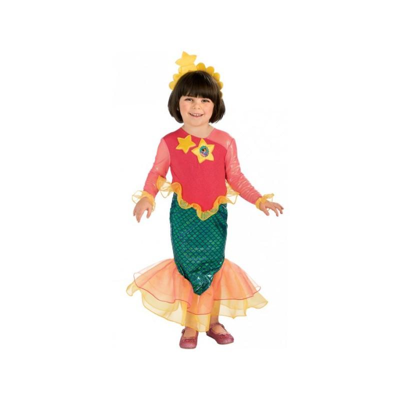 Disfraz De Dora La Exploradora Sirena Para Niña Comprar Online