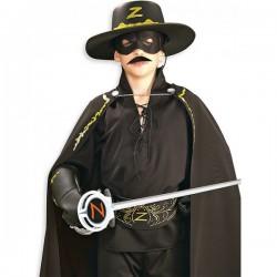 Bigote de El Zorro postizo - Imagen 1