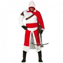 Disfraz de Assassins medieval para adulto - Imagen 1