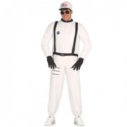 Disfraz de Astronauta blanco para adulto - Imagen 1
