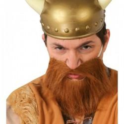Barba castaña para adulto - Imagen 1
