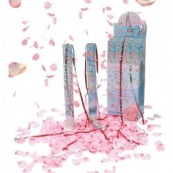 Cañón de Confeti Pétalos de Rosa 50 cm. - Imagen 1