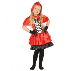 Disfraz de Caperucita Feroz para niña - Imagen 1