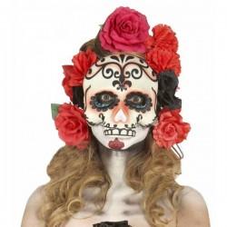 Máscara de Calavera Catrina Mexicana - Imagen 1