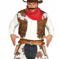 Cartuchera Doble con Pistolas - Imagen 1
