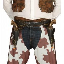 Cartuchera Doble con Pistolas de 29 cm. - Imagen 1