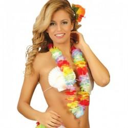 Collar Hawaiano Multicolor de 6'5 cm. - Imagen 1