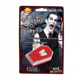 Colmillos de Vampiro con Pegamento - Imagen 1