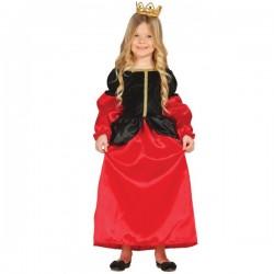 Disfraz Medieval de Cortesana para niña - Imagen 1