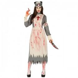 Disfraz de Enfermera Religiosa Zombie para mujer - Imagen 1