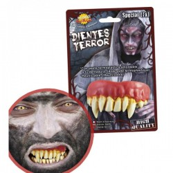 Dientes de Monstruo Postizos - Imagen 1