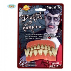 Doble Dentadura de Vampiro - Imagen 1