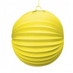 Farol Esférico de 20 cm. Amarillo - Imagen 1