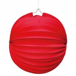 Farol Esférico de 26 cm. Rojo - Imagen 1