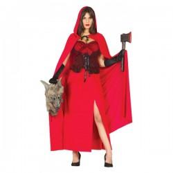 Disfraz de Caperucita Feroz para mujer - Imagen 1