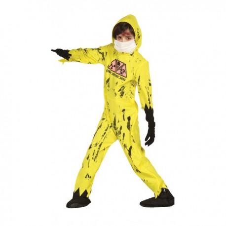 Disfraz de Zombie Nuclear infantil - Imagen 1