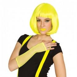 Guante malla amarillo neón - Imagen 1