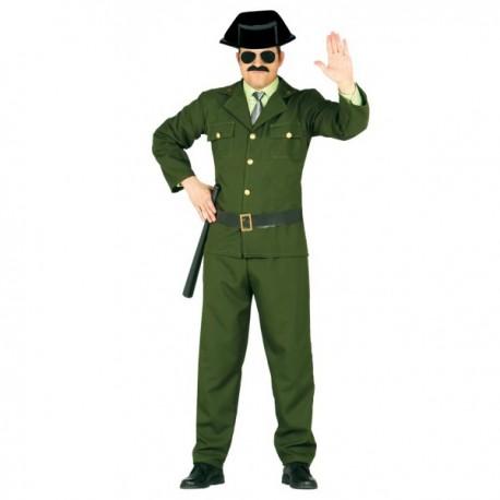 Disfraz de guardia civil para adulto - Imagen 1