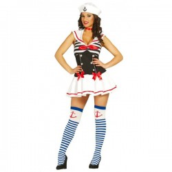 Disfraz de marinera seductora para mujer - Imagen 1