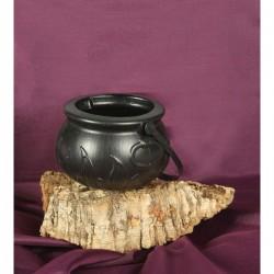 Caldero de bruja decorativo - Imagen 1