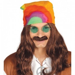 Pañuelo hippie multicolor - Imagen 1