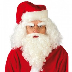 Peluca de Papá Noel con barba - Imagen 1