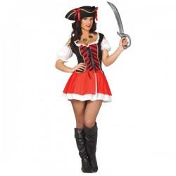 Disfraz de pirata bucanera sexy para mujer - Imagen 1