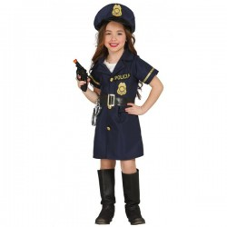 Disfraz de policía para niña - Imagen 1