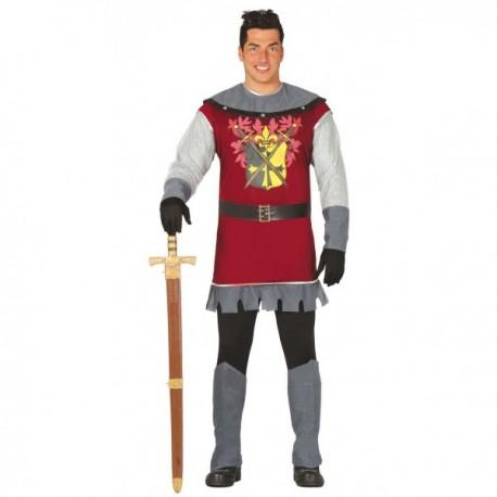 Disfraz de príncipe medieval para hombre - Imagen 1