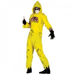 Disfraz de zombie radiactivo para adulto - Imagen 1