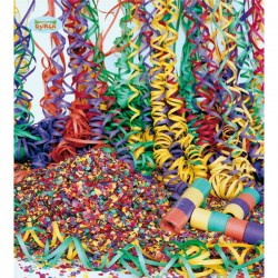 Saco de confetti multicolor 10 Kg. - Imagen 1