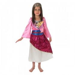 Disfraz de Mulán brillante para niña - Imagen 1