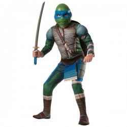 Disfraz de Leonardo musculoso Tortugas Ninja Movie para niño - Imagen 1