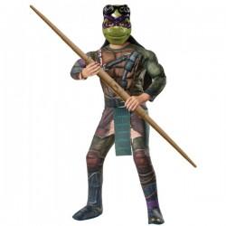 Disfraz de Donatello musculoso Tortugas Ninja Movie para niño - Imagen 1