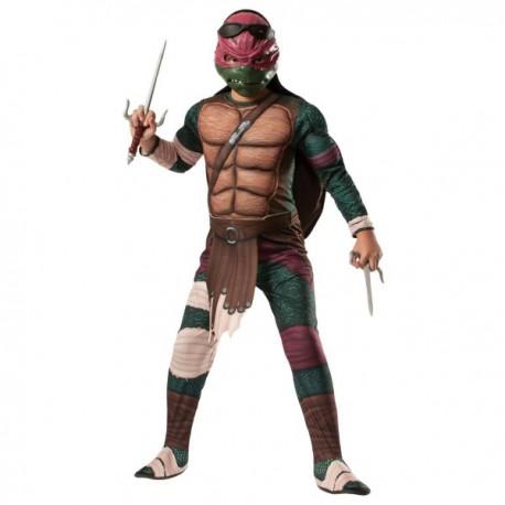 Disfraz de Raphael musculoso Tortugas Ninja Movie para niño - Imagen 1