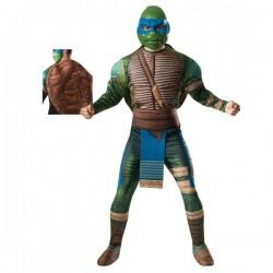 Disfraz de Leonardo Tortugas Ninja Movie para adulto - Imagen 1