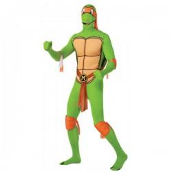 Disfraz de Michelangelo Tortuga Ninja Segunda Piel - Imagen 1