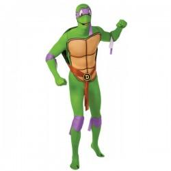 Disfraz de Donatello Tortugas Ninja Segunda Piel - Imagen 1