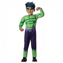 Disfraz de Hulk Vengadores Unidos para bebé - Imagen 1