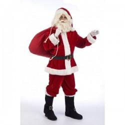 Disfraz de Papá Noel Lujo - Imagen 1