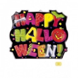 Cartel decorativo Happy Halloween - Imagen 1