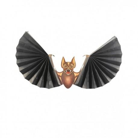 Murciélago con alas de abanico - Imagen 1