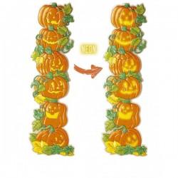 Torre de calabazas decorativas 3D fluorescentes - Imagen 1