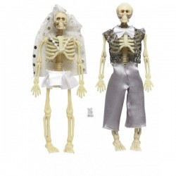 Novios esqueleto decorativos - Imagen 1