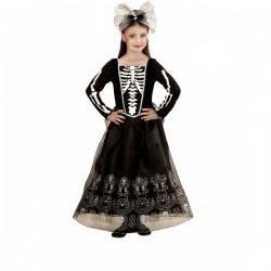 Disfraz de dama esqueleto para niña - Imagen 1