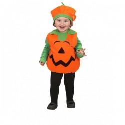 Disfraz de calabaza feliz infantil - Imagen 1