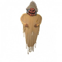 Espantapájaros colgante decorativo - Imagen 1