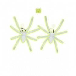 Pendientes de araña fluorescentes - Imagen 1
