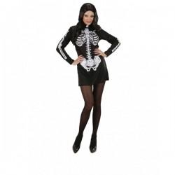 Disfraz de señorita esqueleto - Imagen 1
