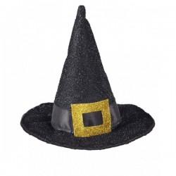 Mini sombrero de bruja clásico - Imagen 1
